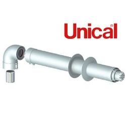 Kit scarico fumi coassiale Unical - 00362222
