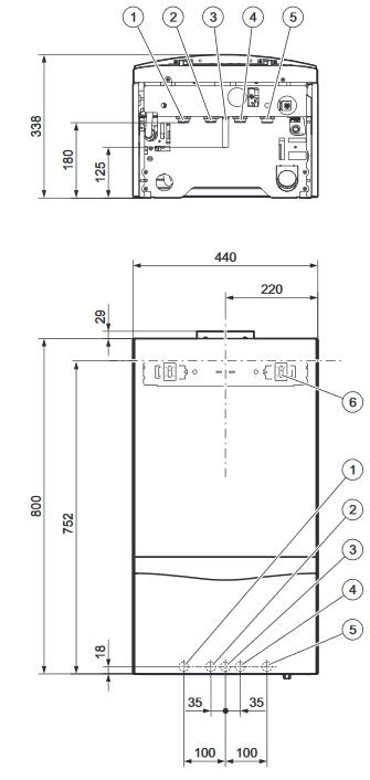 Caldaia Vaillant Atmotec Plus Balkon Vmw B 240 5 5 24 Kw Gpl