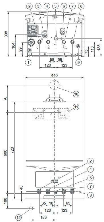 Caldaia condensazione vaillant ecotec pure vmw it 246 7 2 - Caldaia per casa 3 piani ...